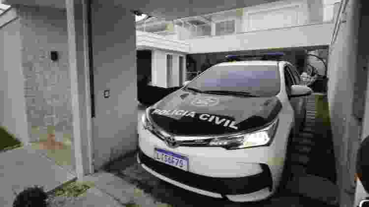 Polícia Civil realiza operação em casa de bombeiro suspeito de envolvido na morte de Marielle Franco - José Lucena/Futura Press/Estadão Conteúdo - José Lucena/Futura Press/Estadão Conteúdo
