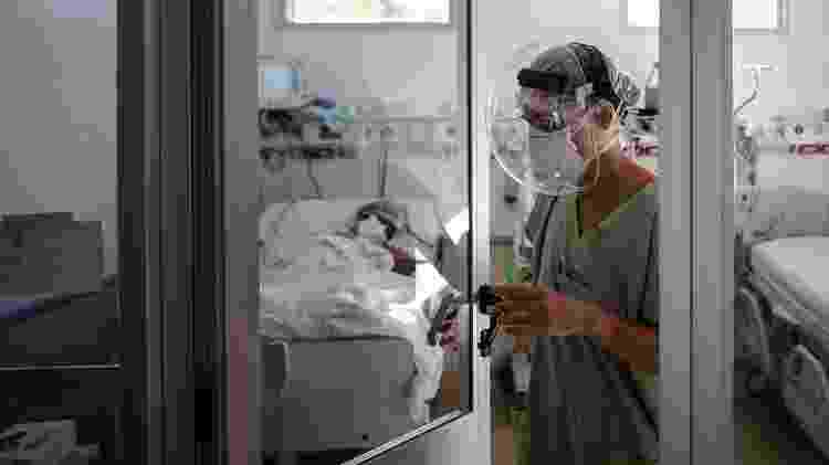 Médica argentina - Juan Ignacio Roncoroni/EPA - Juan Ignacio Roncoroni/EPA