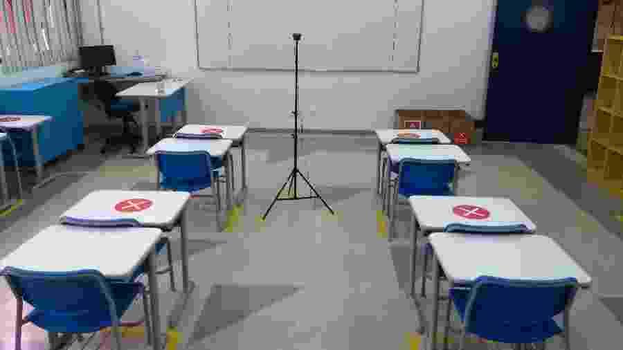 Diferentemente do plano estadual de SP, a região do ABC definiu a retomada de aulas presenciais para 18 de fevereiro na rede privada e 1º de março na rede pública - Alex Tajra/ UOL