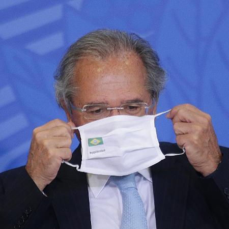 22.out.2020 - O ministro Paulo Guedes afirmou que o governo trabalhará de forma decisiva se houver uma segunda onda de coronavírus  - Dida Sampaio/Estadão Conteúdo
