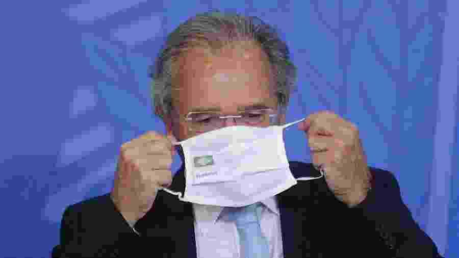 O ministro da Economia, Paulo Guedes - Por Marcela Ayres