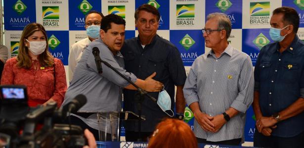 Estado enfrenta apagão   Ida de Bolsonaro ao Amapá e MP da luz não aliviam pressão sobre Alcolumbres