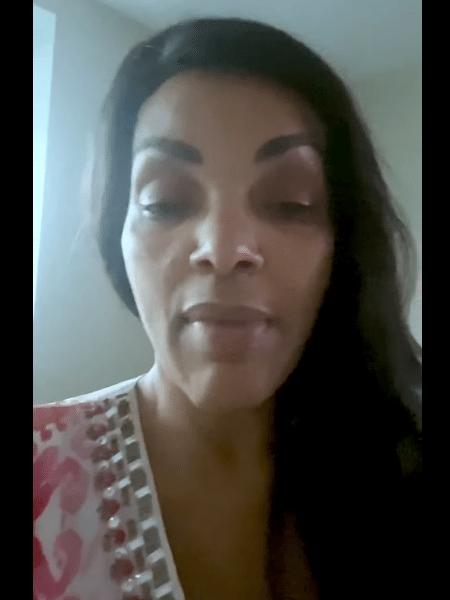 A deputada Flordelis dos Santos - Reprodução/Facebook