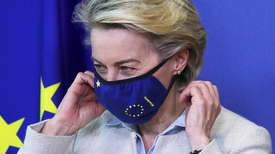 Declaração foi dada pro Ursula von der Leyen, presidente da Comissão Europeia, à CNN - Yves Harman/Reuters