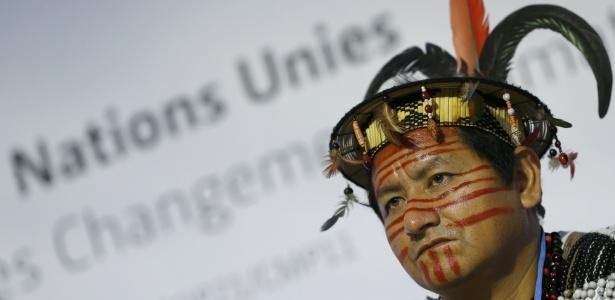 Indígenas querem inclusão de direitos no acordo de Paris - Stephane Mahe/Reuters
