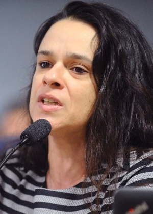 A advogada Janaina Paschoal,muma das autoras do pedido de impeachment da presidente afastada, Dilma Rousseff