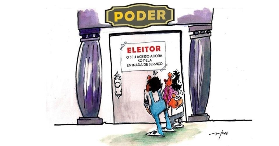 7.out.2016 - Depois das eleições, o eleitor brasileiro já não é mais tão querido