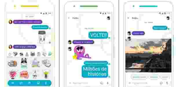 Google Allo com Google Assistant em português - Divulgação