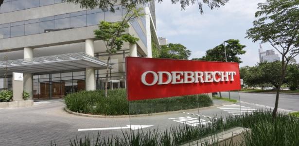 Fachada da construtora Odebrecht, em São Paulo (SP)