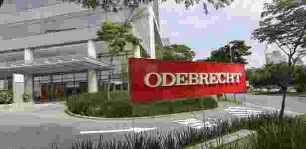 Fachada da construtora Odebrecht, em São Paulo - Newton Menezes/Futura Press/Estadão Conteúdo