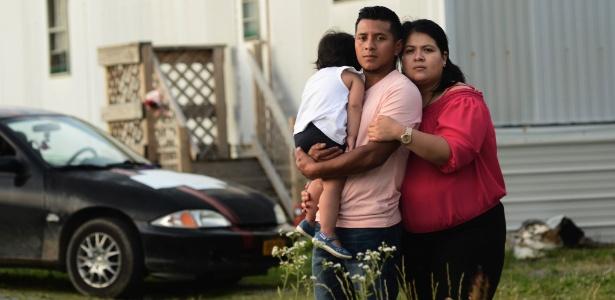 Carlos Cardona, imigrante que dirigiu sem habilitação para levar a filha ao hospital
