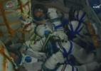 Nave tripulada russa parte rumo à Estação Espacial com a bola da Copa (Foto: Nasa)