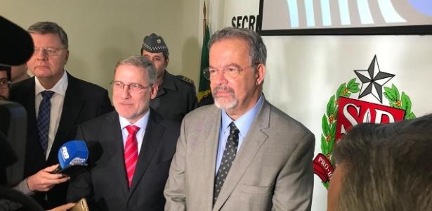 Jungmann esteve em São Paulo para uma reunião com a cúpula da segurança pública estadual
