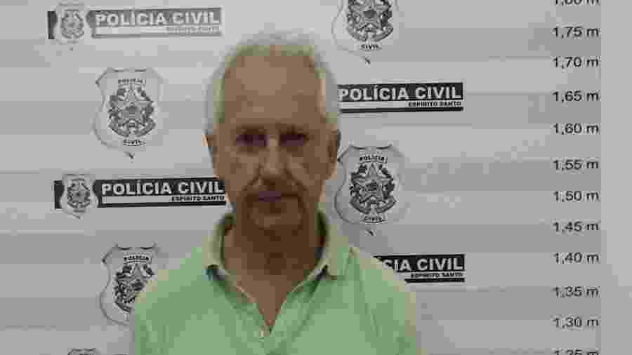 Marcos Venicio Moreira Andrade foi assessor do ex-governador Gerson Camata por cerca de 20 anos - Divulgação/Polícia Civil
