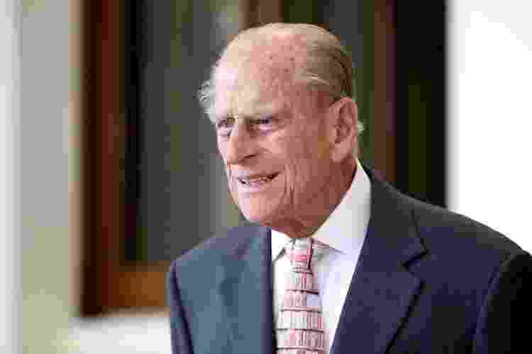 14.jul.2017 - O príncipe Philip durante evento no palácio de Buckingham, em Londres - Chris Jackson/Reuters - Chris Jackson/Reuters