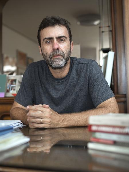 Retrato do deputado Marcelo Freixo. - Ricardo Borges/UOL