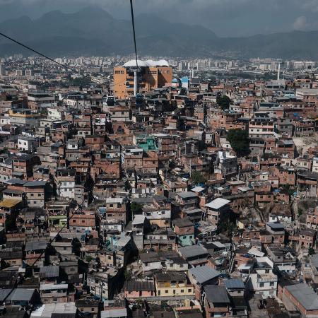Área com mais tiroteios foi o Complexo do Alemão - Yasuyoshi Chiba/AFP