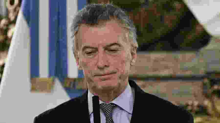 Mauricio Macri, presidente da Argentina - Juan Mabromata - 20.ago.2019/AFP