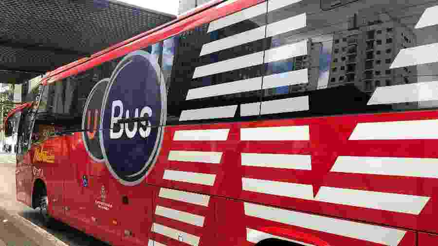 UBus: novo aplicativo conecta passageiros a linha de transporte público - Gabriel Francisco Ribeiro/UOL