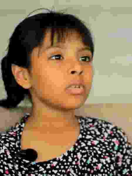 Adhara Pérez tem 8 anos - Reprodução