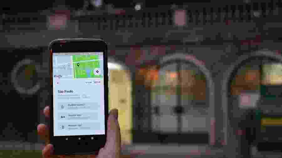 Todas as indicações de banheiros do app Flush são feitas pelos usuários - Gabriela Ferigato/UOL