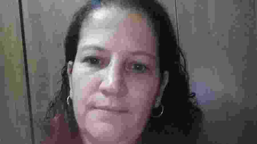 Laudicéa Barbosa, de 49 anos, está desempregada e enfrenta dificuldades ao utilizar o aplicativo Caixa Tem - Arquivo pessoal