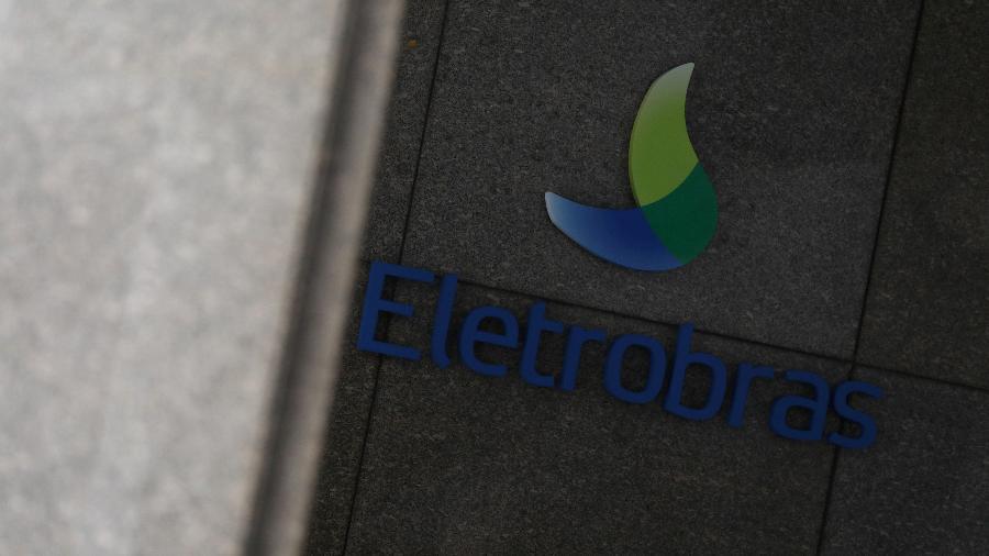 Logo da Eletrobras em instalações da companhia no Rio de Janeiro - Por Roberto Samora