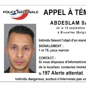 15.nov.2015- Polícia francesa divulga foto de Salah Abdeslam, um dos supostos terroristas envolvidos nos ataques de Paris em 13 de novembro de 2015