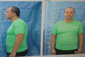 Foto do ex-governador sendo identificado para cumprir prisão preventiva em Bangu