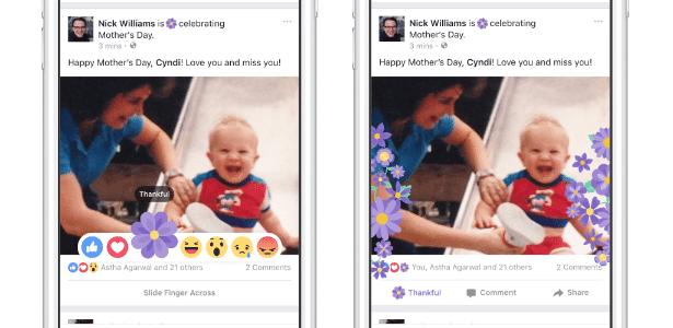 Botão de gratidão voltará para o Dia das Mães