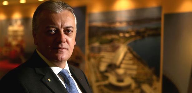 O ex-presidente da Petrobras, Aldemir Bendine