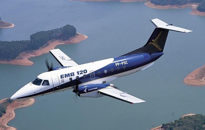 Brasília, último turboélice comercial produzido pela Embraer