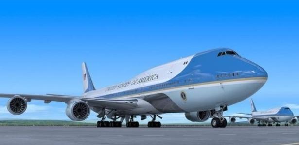 A Boeing divulgou esta imagem como sendo a do novo avião presidencial americano - Divulgação