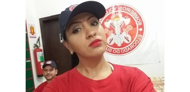 Gislene Goulart era bombeira voluntária
