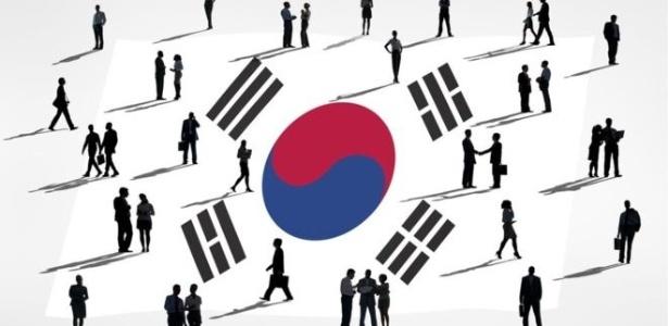 O desenvolvimento industrial e econômico da Coreia do Sul é comparável ao de muitos países ocidentais - Getty Images