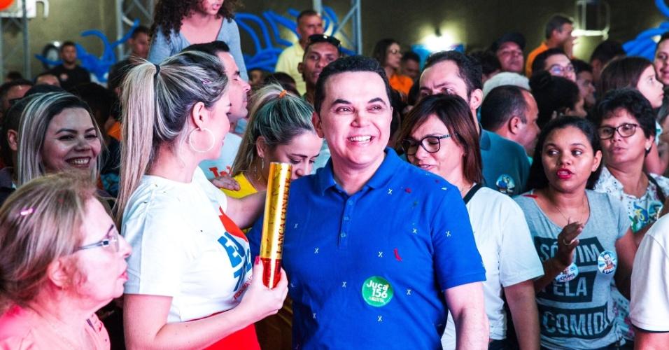 10.out.2018 - Jalsen Ranier (SD), 46 anos, foi o candidato a deputado estadual mais votado de Roraima, com 8.401 votos