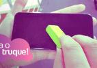Dá para apagar riscos no celular com borracha? Testamos para te contar (Foto: Márcio Padrão/Arte UOL)