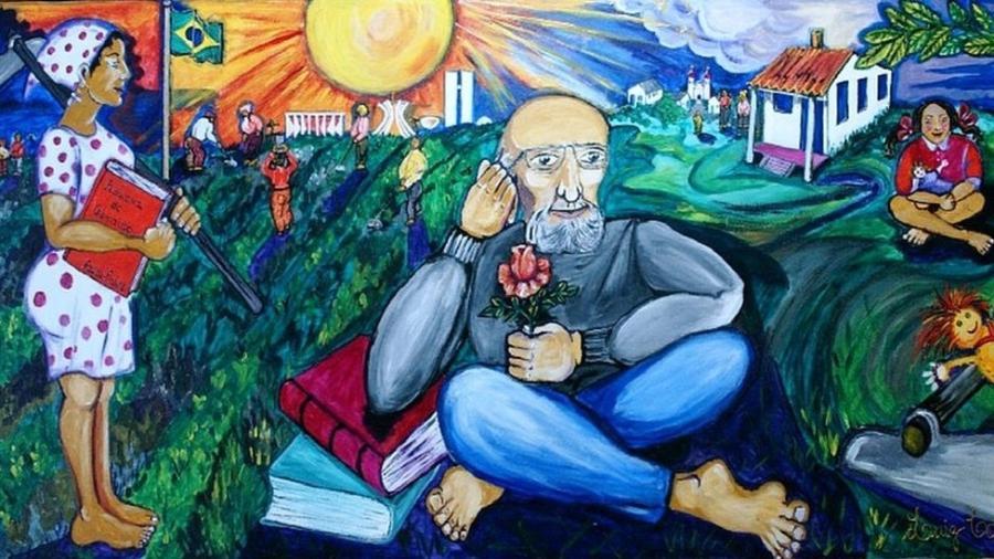 Paulo Freire está entre os pensadores mais citados do mundo - Luiz Carlos Cappellano-Dominio Público