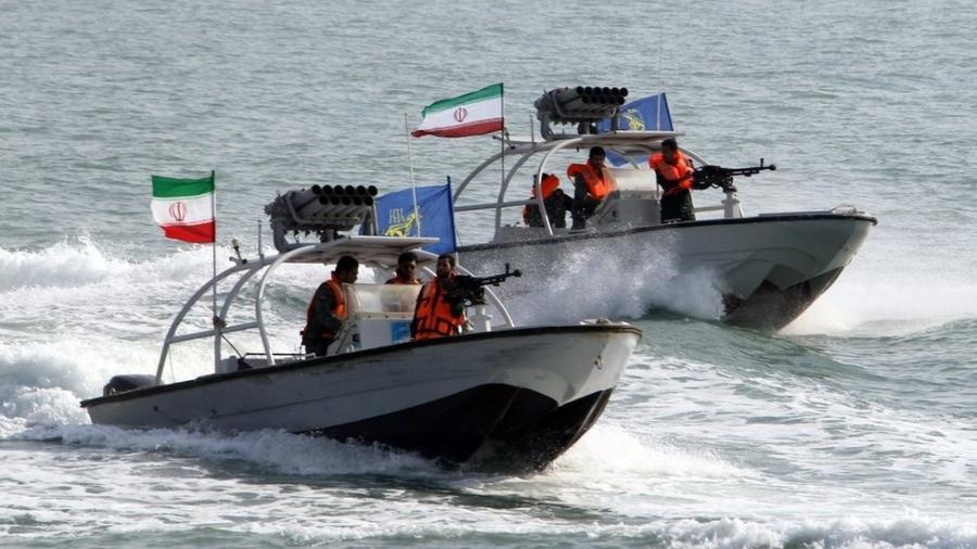 Guarda Revolucionária Iraniana é responsável por patrulhar região do Estreito de Ormuz - AFP