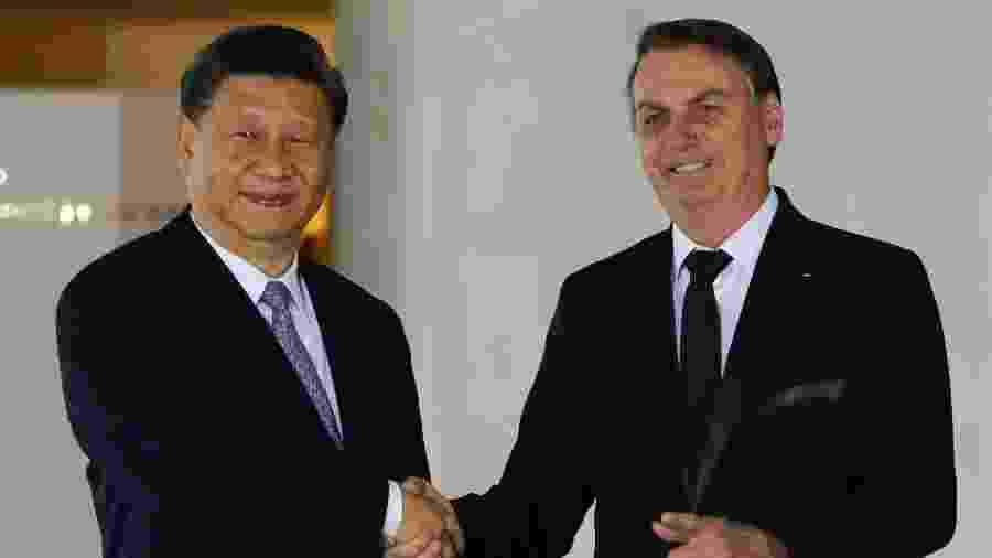 """Presidente chinês fala em """"fomentar um avanço coordenado em desenvolvimento ambiental"""" -  Sergio LIMA / AFP"""
