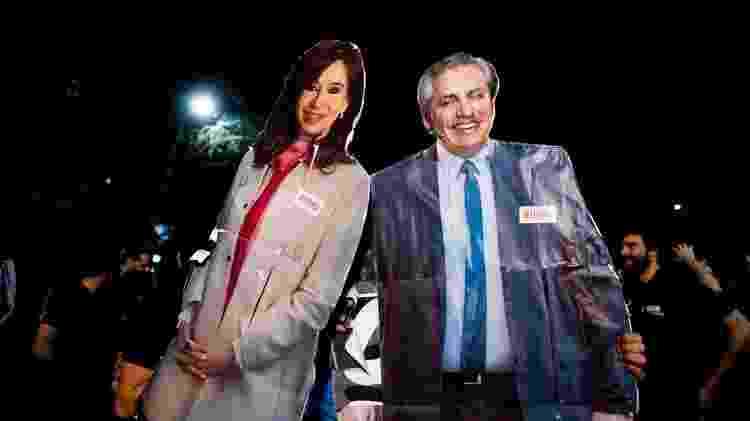 Imprensa argentina tem debatido qual será a dinâmica de poder entre Cristina e Fernández - Getty Images