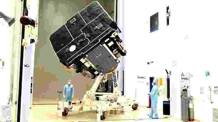 A SolO levou oito anos para ser construída e testada - AIRBUS - AIRBUS