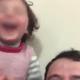 Pai que fazia filha rir para se distrair de bombas sai da Síria - Reprodução