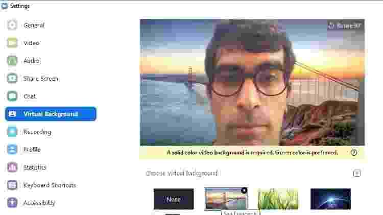 Dá para mostrar você aparecendo em dobro na videochamada; veja como fazer 4 - Reprodução - Reprodução