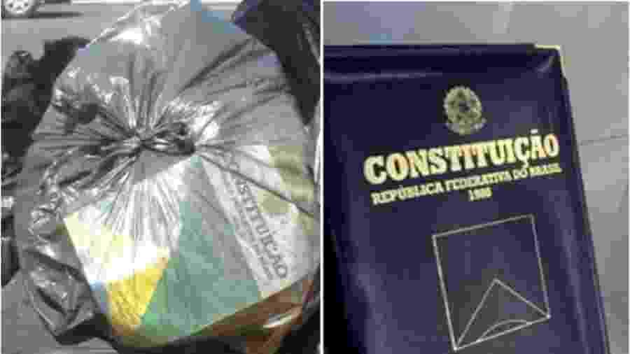 Constituição não precisa de encadernação de luxo, mas não pode ir para o lixo por vontade impune deste ou daquele. Então o presidente pode pregar e falar qualquer coisa? Resposta: não! - Reprodução