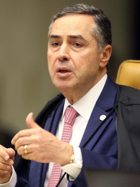 O ministro Luís Roberto Barroso: palavras bonitas - Nelson Jr./SCO/STF