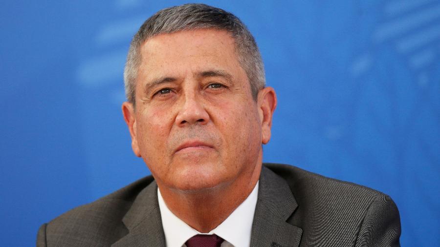 General Walter Braga Netto teria ameaçado não permitir eleições democráticas caso o voto impresso não seja aprovado pelo Congresso  - ADRIANO MACHADO