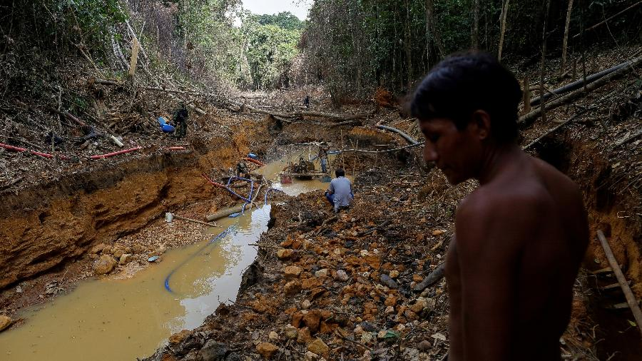 Mina de ouro na Amazônia - REUTERS/Bruno Kelly
