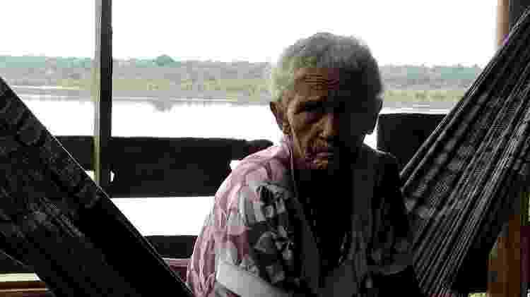 Indígena idosa - Lucas Ferrante - Lucas Ferrante