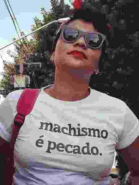 Filha de pastores Simony é feminista e candidata à prefeita  - Arquivo Pessoal - Arquivo Pessoal